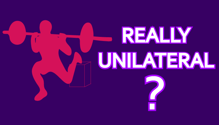 Is the Bulgarian Split Squat Really a Unilateral Exercise?