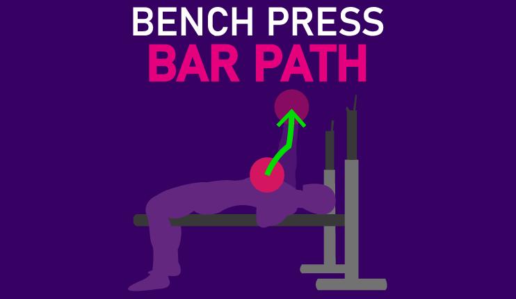 bench press optimal bar path