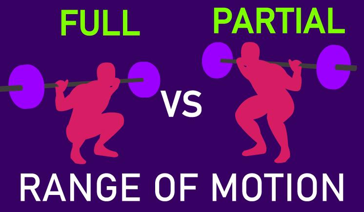 full vs partial range of motion