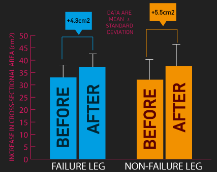 failure vs not training to failure for muscle hypertrophy