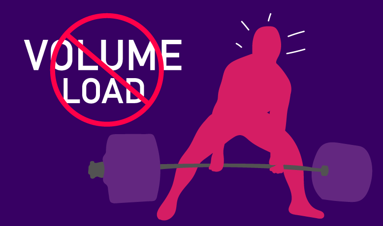 volume load does not drive muscle hypertrophy
